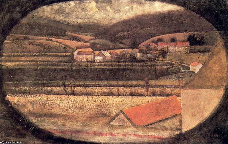 Balthus+-+Winter+Landscape+